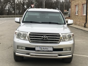 Toyota Land Cruiser 4.5 AT 2009, Серебряный