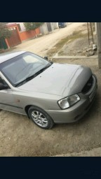 Hyundai Accent 1.5 AT 2008, Бежевый